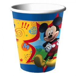 Copo de Papel Mickey Mouse Festa Infantil 24un