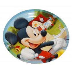 Pratinho de Papel Mickey Mouse Festa Infantil com 12un