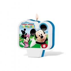 Vela para Bolo de Aniversário Clube Mickey Mouse Aniversário Infantil