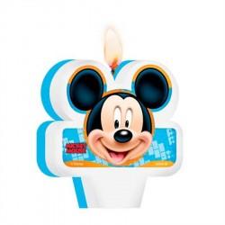 Vela de Aniversário Mickey Mouse Aniversário Infantil