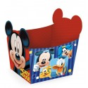 Cestinha de papel do Mickey Mouse Festa Infantil