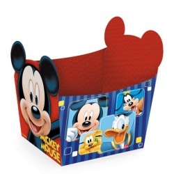 Cestinha de papel do Mickey Mouse Festa Infantil