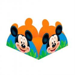 Forminha para Cupcake ou Doces Mickey Mouse Festa Infantil