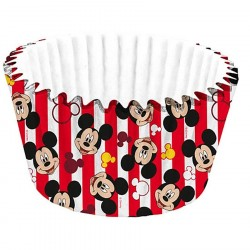 Forminha para Cupcake e Doces Mickey Mouse Festa Infantil 24un