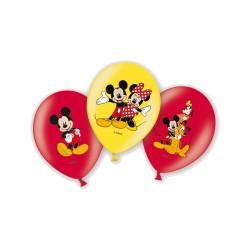Bexigas de Látex Mickey Mouse Festa Infantil 24un