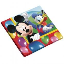 Guardanapos de Papel Mickey Mouse Festa Infantil 50un