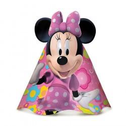 Chapeuzinho de Aniversário Minnie Rosa Festa Infantil