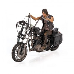 Boneco The Walking Dead Personagem Daryl Dixon com Moto