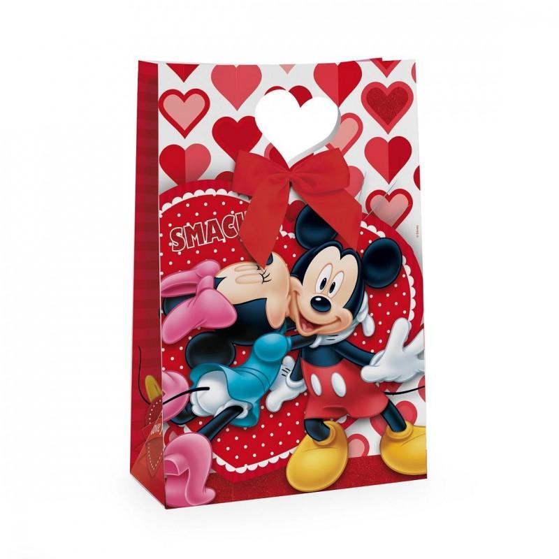 Embalagem Sacola Minnie Vermelho Festa Infantil 24un
