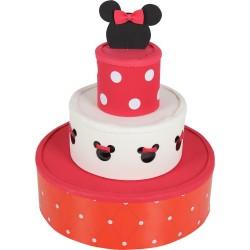 Bolo Fake Cenográfico Minnie Mouse Festa Infantil