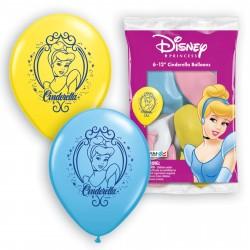 Bexigas de Látex da Princesa Cinderela Festa Infantil