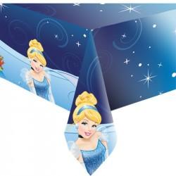 Toalha de Mesa Plástica Princesa Cinderela Festa Infantil