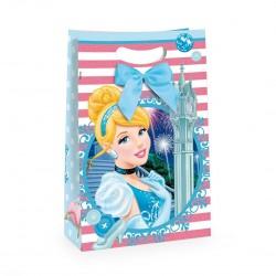 Embalagem Luxo de Papel Princesa Cinderela Festa Infantil