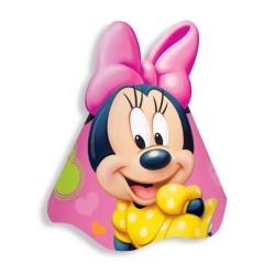Chapéu de Aniversário Minnie Rosa Disney Festa Meninas