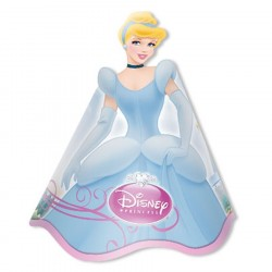 Chapeuzinho de Aniversário Princesa Cinderela Festa Infantil