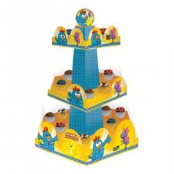 Suporte para Cupcake ou Doces Galinha Pintadinha Aniversário