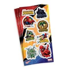 Cartelas de Adesivos Decorativos Homem Aranha
