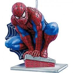 Vela para Bolo Homem Aranha
