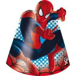 Chapéu de Aniversário Homem Aranha 8un