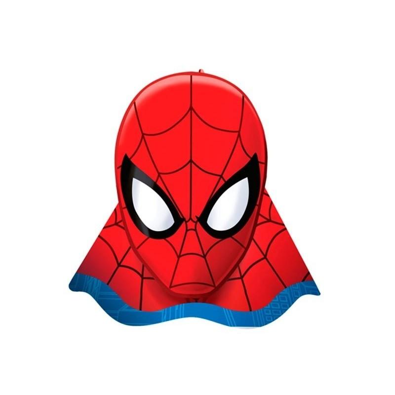 Chapeuzinho de Aniversário Homem Aranha Spider Man 8un