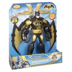 Boneco Super-Herói  Wing Warrior Batman Grande 25cm