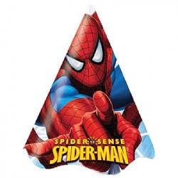 Chapéu para Festa de Aniversário Homem Aranha 8un
