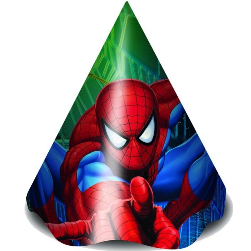 Chapéu de Aniversário do Homem Aranha Festa Infantil