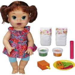 Boneca Baby Alive Morena Comilona Hasbro