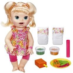 Boneca Baby Alive Loira Comilona Hasbro
