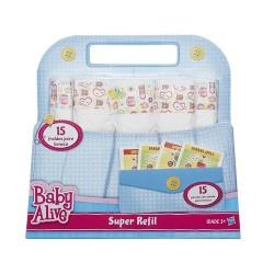 Fralda para Boneca Baby Alive Econômico 15 Fraldinhas