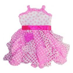 Roupinha para Boneca Baby Alive Vestido Rosa