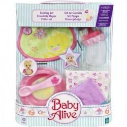 Kit de Acessórios Alimentação Boneca Baby Alive