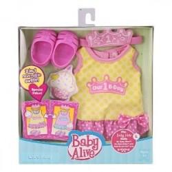 Kit de Roupinha e Sapatinho Boneca Baby Alive