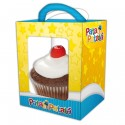 Caixa para Cupcake Lembracinha Patati Patata Festa Infantil 8un