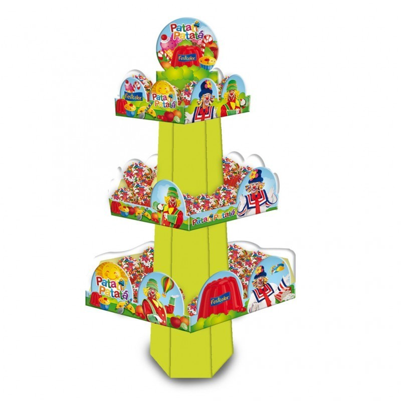 Suporte para Cupcake Bala Patati Patata Festa Infantil