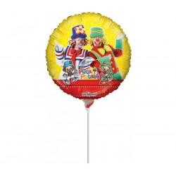 Balão Metalizado do Patati Patata para Festa Infantil 24un