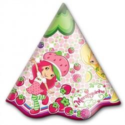 Chapéu de Aniversário Moranguinho 24un Festa Infantil