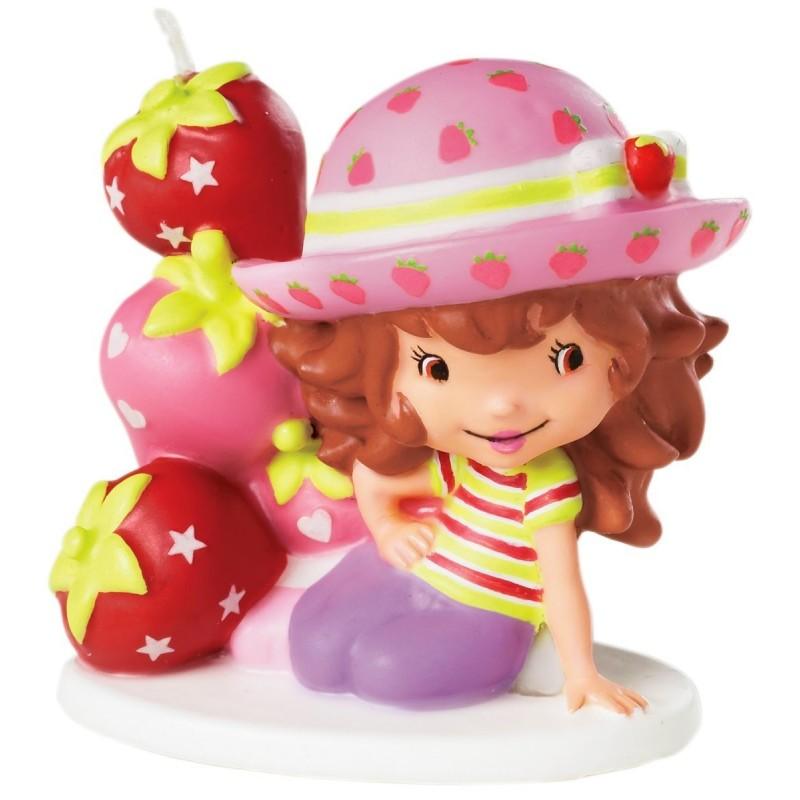 Vela de Bolo de Aniversário Moranguinho Festa Infantil