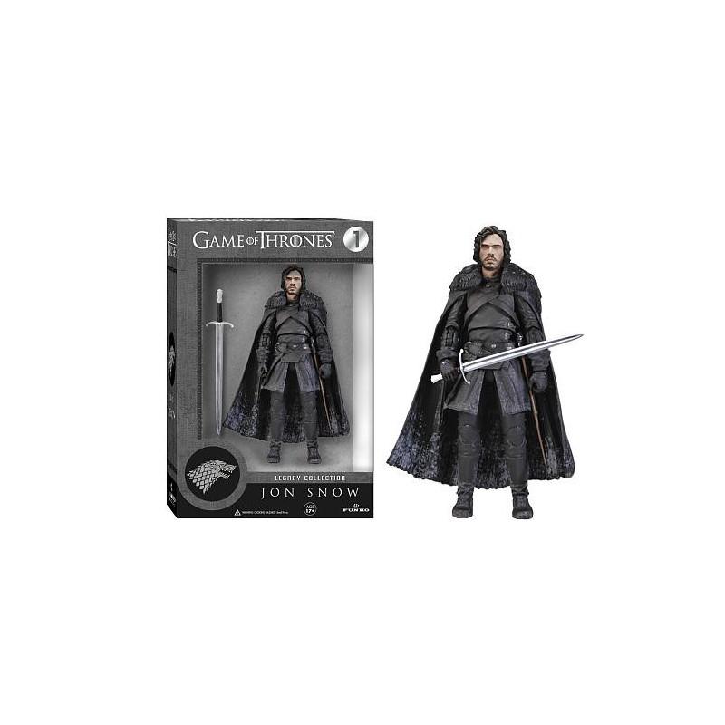 Boneco Game of Thrones Personagem Jon Snow