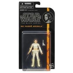 Boneco Star Wars Black Series Personagem Biggs Darklighter Padme Amidala