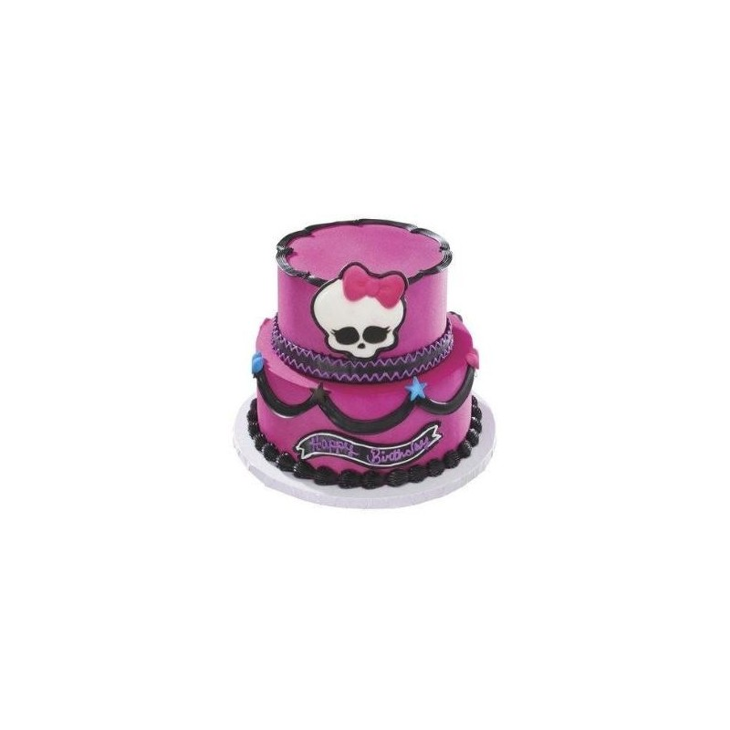 Bolo Fake Cenográfico EVA Decorativo Monster High