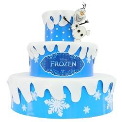 Bolo Decorativo Cenográfico Fake Frozen