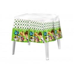 Toalha de Mesa Plástica Descartável Ben 10 Decorativas