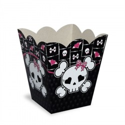 Cachepot Decorativo Monster High Caveira 8un
