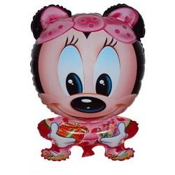 Balão Metalizado Decorativo Minnie Baby