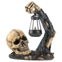 Luminária Festa de Halloween Caveira Dia das Bruxas