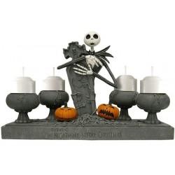 Candelabro para Festa de Halloween e Dia das Bruxas Lápide
