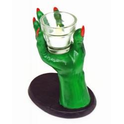 Candelabro para Festa de Halloween e Dia das Bruxas Mão de Monstro