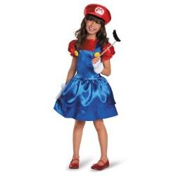 Fantasia Infantil Super Mario World Meninas Festa Halloween