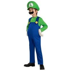 Fantasia Infantil Luigi do Super Mario World Festa Halloween